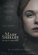 Mary Shelley - Italian Movie Poster (xs thumbnail)