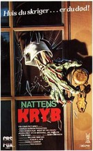 Night of the Creeps - Danish VHS movie cover (xs thumbnail)
