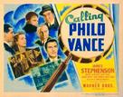 Calling Philo Vance - Movie Poster (xs thumbnail)