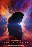 X-Men: Dark Phoenix - Lithuanian Movie Poster (xs thumbnail)