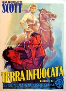 Tall Man Riding - Italian Movie Poster (xs thumbnail)