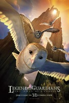 Legend of the Guardians: The Owls of Ga'Hoole - Movie Poster (xs thumbnail)