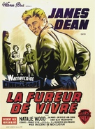 Rebel Without a Cause - French Movie Poster (xs thumbnail)