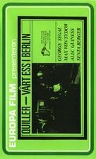 The Quiller Memorandum - Norwegian VHS cover (xs thumbnail)