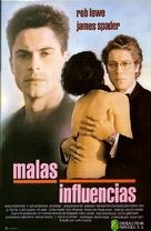 Bad Influence - Spanish Movie Poster (xs thumbnail)