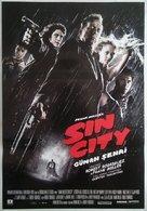 Sin City - Turkish Movie Poster (xs thumbnail)
