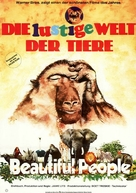 Animals Are Beautiful People - German Movie Poster (xs thumbnail)