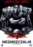 The Expendables - Polish DVD cover (xs thumbnail)