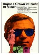 The Thomas Crown Affair - German Movie Poster (xs thumbnail)