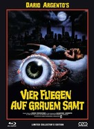 4 mosche di velluto grigio - Austrian Blu-Ray movie cover (xs thumbnail)