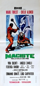 Maciste nella valle dei re - Italian Movie Poster (xs thumbnail)
