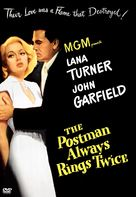 The Postman Always Rings Twice - DVD cover (xs thumbnail)