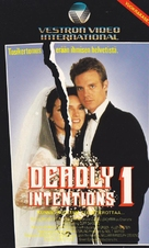 Deadly Intentions - Finnish VHS cover (xs thumbnail)