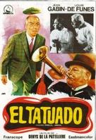 Le tatoué - Spanish Movie Poster (xs thumbnail)