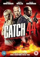 Catch .44 - British DVD cover (xs thumbnail)