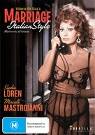 Matrimonio all'italiana - Australian DVD cover (xs thumbnail)