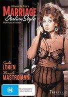 Matrimonio all'italiana - Australian DVD movie cover (xs thumbnail)