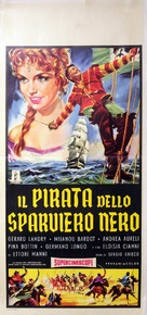 The Pirate of the Black Hawk - Italian Movie Poster (xs thumbnail)