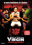 The 40 Year Old Virgin - Dutch Movie Poster (xs thumbnail)