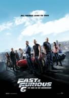 Furious 6 - Dutch Movie Poster (xs thumbnail)