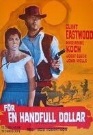 Per un pugno di dollari - Swedish Movie Poster (xs thumbnail)