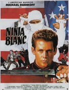 American Ninja 2: The Confrontation - French Movie Poster (xs thumbnail)