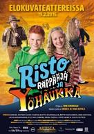 Risto Räppääjä ja yöhaukka - Finnish Movie Poster (xs thumbnail)