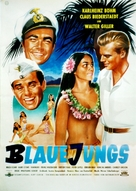 Blaue Jungs - German Movie Poster (xs thumbnail)
