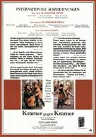 Kramer vs. Kramer - German Movie Poster (xs thumbnail)