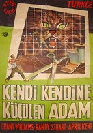 The Incredible Shrinking Man - Turkish Movie Poster (xs thumbnail)