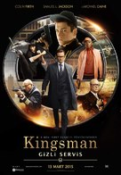 Kingsman: The Secret Service - Turkish Movie Poster (xs thumbnail)