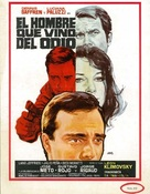 El hombre que vino del odio - Spanish Movie Poster (xs thumbnail)