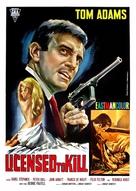 Licensed to Kill - Italian Movie Poster (xs thumbnail)