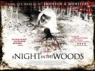 A Night in the Woods - British Movie Poster (xs thumbnail)