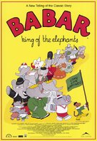 Babar: King of the Elephants - Canadian Movie Poster (xs thumbnail)