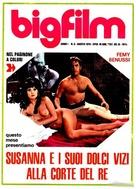 Frau Wirtin hat auch einen Grafen - Italian Movie Poster (xs thumbnail)