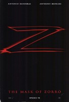 The Mask Of Zorro - Advance poster (xs thumbnail)