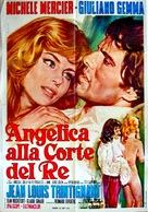 Merveilleuse Angélique - Italian Movie Poster (xs thumbnail)
