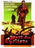 Muerte de un ciclista - French Movie Poster (xs thumbnail)