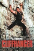 Cliffhanger - DVD movie cover (xs thumbnail)
