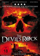 The Devil's Rock - German DVD cover (xs thumbnail)