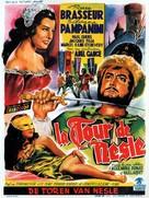La tour de Nesle - Belgian Movie Poster (xs thumbnail)