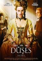 The Duchess - Turkish Movie Poster (xs thumbnail)