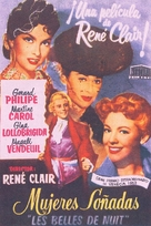 Les belles de nuit - Spanish Movie Poster (xs thumbnail)