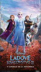 Frozen II - Slovak Movie Poster (xs thumbnail)