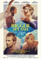 A Bigger Splash - Dutch Movie Poster (xs thumbnail)