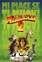Madagascar: Escape 2 Africa - Italian Movie Poster (xs thumbnail)