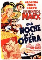 A Night at the Opera - Spanish Movie Poster (xs thumbnail)