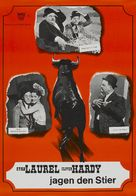 The Bullfighters - German Movie Poster (xs thumbnail)