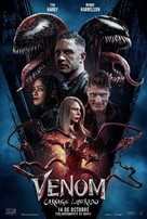 Venom: Let There Be Carnage - Colombian Movie Poster (xs thumbnail)